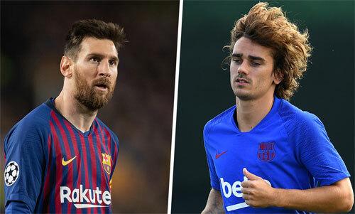 Messi và Griezmann sẽ là đồng đội từ mùa tới.