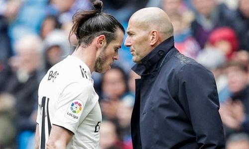 Zidane nói rằng Bale từ chối thi đấu chứ không phải bị ông loại khỏi đội. Ảnh: AFP.