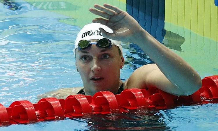 Katinka Hosszu tiếp tục thống trị nội dung 200 mét hỗn hợp. Ảnh: Reuters.