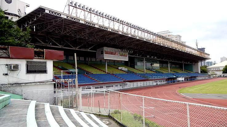Một góc sân thi đấu ở Philippines hiện nay. Ảnh: Siamsport.