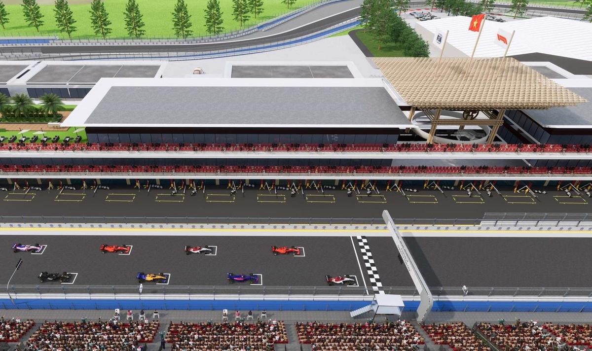 Phối cảnh những góc cua hiểm của Grand Prix Việt Nam