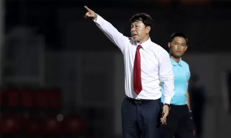 HLV Chung Hae-seong tin rằng kết quả trận TP HCM - Hà Nội ngày mai không quyết định cơ hội vô địch của mỗi đội. Ảnh: Đức Đồng.