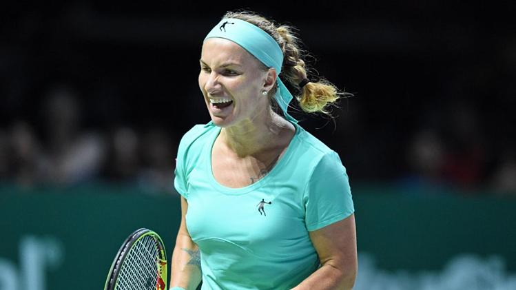 Svetlana Kuznetsova, 34 tuổi, đã đăng quang hai lần ở Citi Mở rộng.