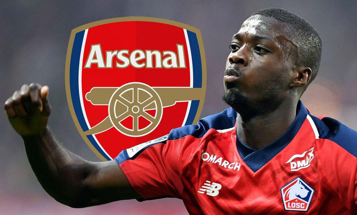 Man Utd, PSG, Arsenal, Napoli tranh nhau mua Pepe