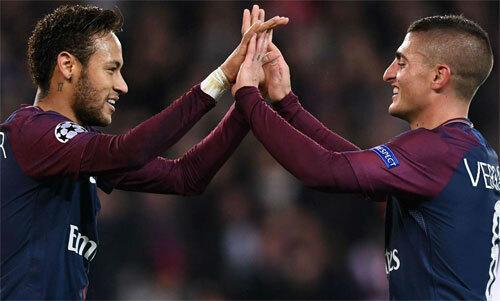 Neymar và Verratti có thể không còn thi đấu cùng nhau mùa tới.