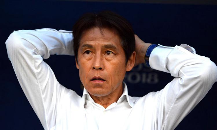 HLV Nishino chỉ có một tháng rưỡi chuẩn bị trước khi đối đầu Việt Nam ở vòng loại World Cup 2022.