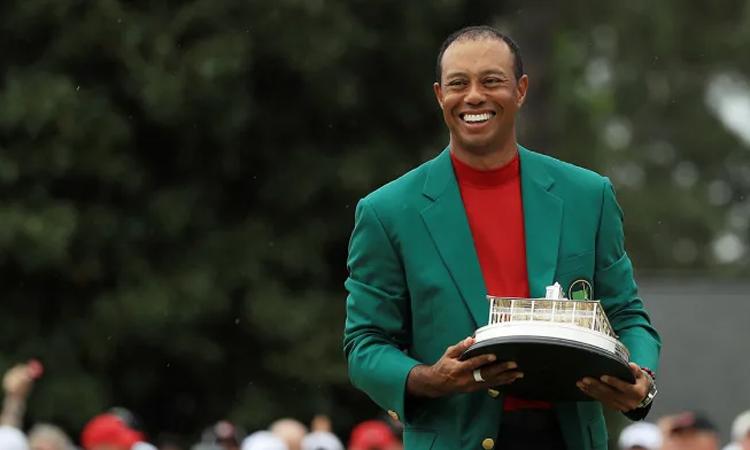 Kể từ sau chức vô địch The Masters, Woods chỉ có thành tích tốt nhất là T9 tại giải Memorial. Ảnh: PGA Tour.