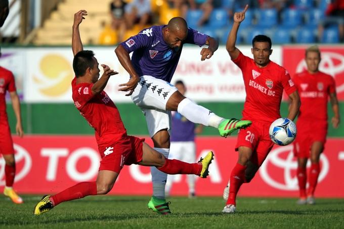 3 trận đấu đáng nhớ giữa Hà Nội và Bình Dương
