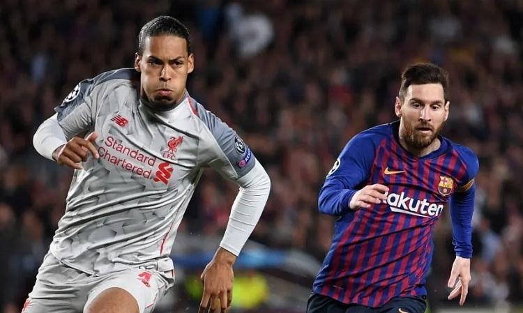 Van Dijk, Ronaldo và Messi sẽ tranh giải The Best 2019. Ảnh: AFP.