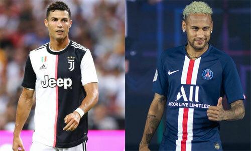 Neymar đang muốn tìm lại ánh hào quang như Ronaldo.