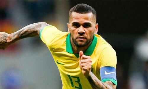 Alves vẫn chơi rất hay ở tuổi 36.