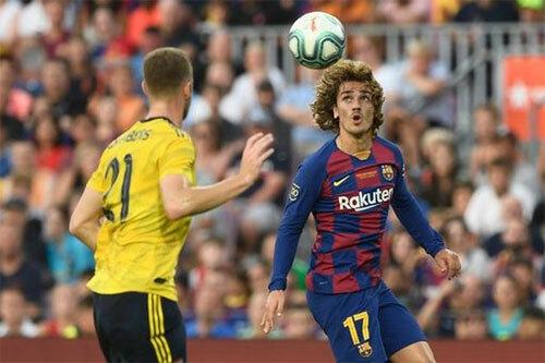 Griezmann vẫn chưa ghi bàn nào cho Barca. Ảnh: Reuters