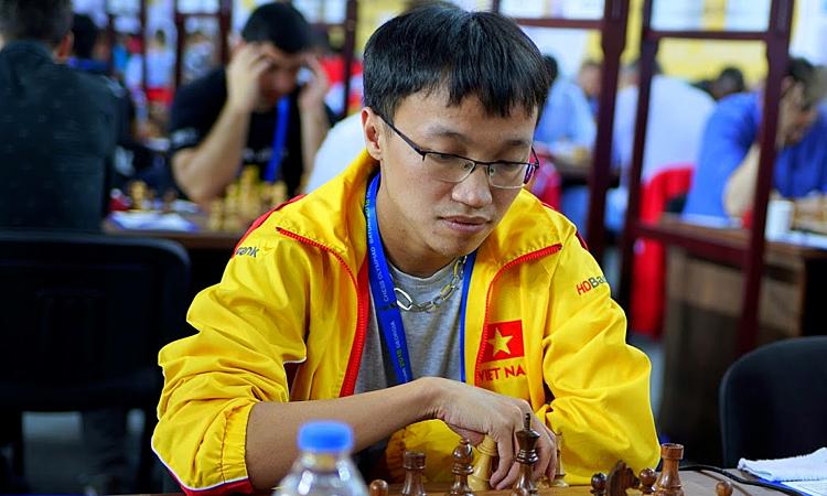 Trường Sơn thi đấu thành công tại giải cờ vua Hồ Nam. Ảnh: Chess Olympiad.