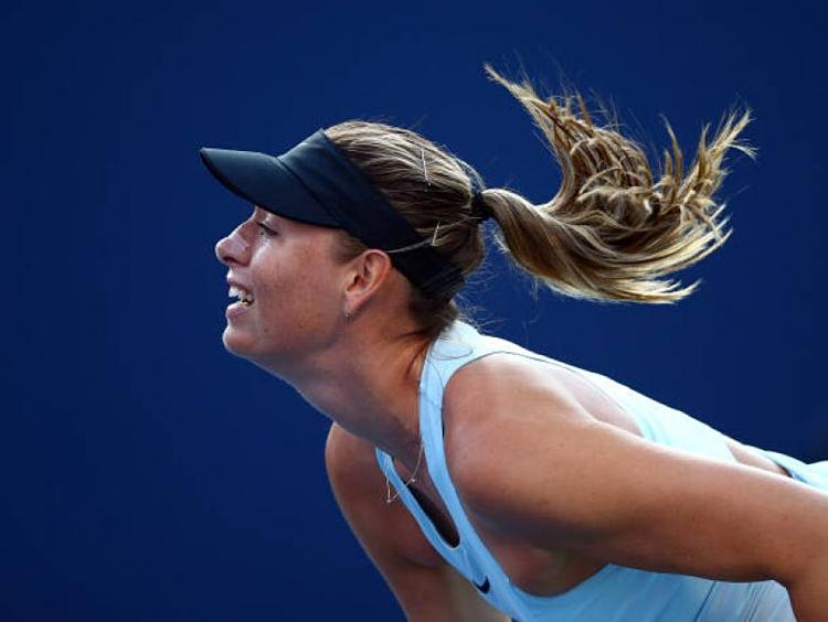 Sharapova không chơi một trận nào kể từ sau khi bỏ cuộc giữa chừng ở vòng đầu tiên Wimbledon 2019 do chấn thương.