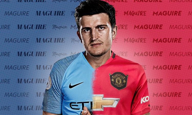 Maguire tạo ra cuộc đấu giá phức tạp và gay cấn giữa hai đội bóng thành Manchester.