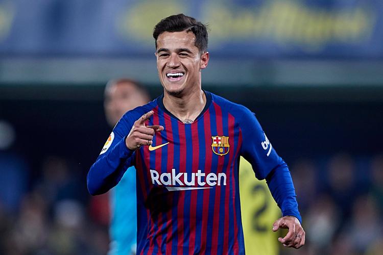 Coutinho khó trở lại Ngoại hạng Anh trước ngày đóng cửa thị trường chuyển nhượng vào 8/8. Ảnh:AFP.