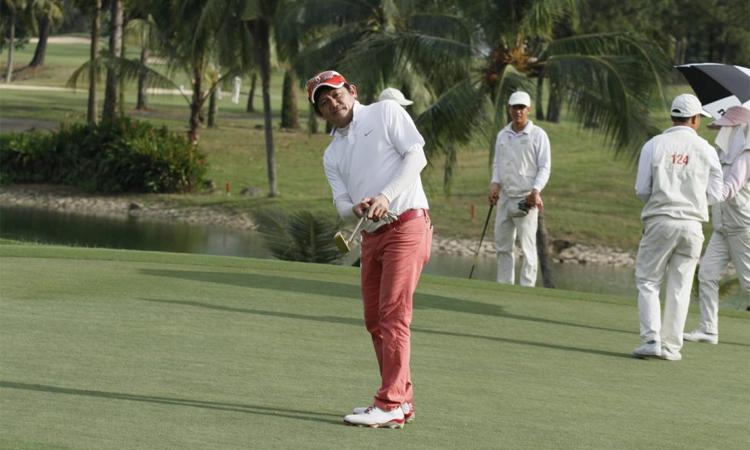 Golfer Nguyễn Văn Liêm là đội trưởng tuyển miền Nam tại Cup độc lập. Ảnh: Golfnet.