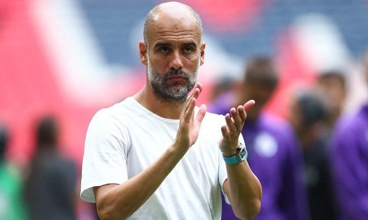 Guardiola cho rằng các đội khác phải bắt kịp Man City và Liverpool ở mùa trước nếu muốn vô địch. Ảnh: AFP.