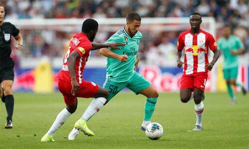 Hazard cải thiện về mặt tốc độ so với năm trận đấu trước.