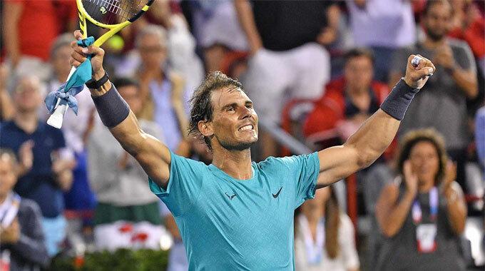 Nadal đã giành 379 chiến thắng ở các giải Masters 1000. Ảnh: ATP.