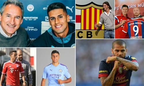 Phần lớn cầu thủ mà Guardiola đưa về đều thành công.
