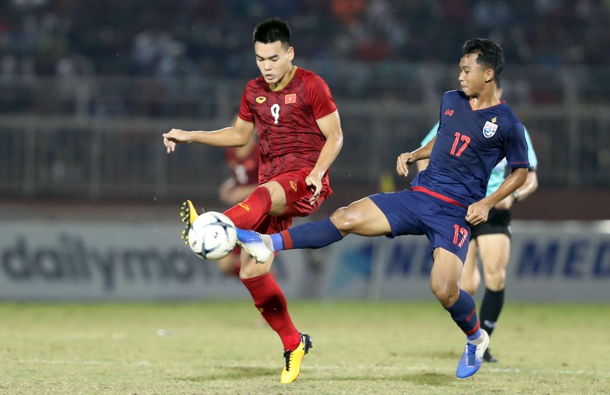 Việt Nam hoà Thái Lan ở giải U18 Đông Nam Á