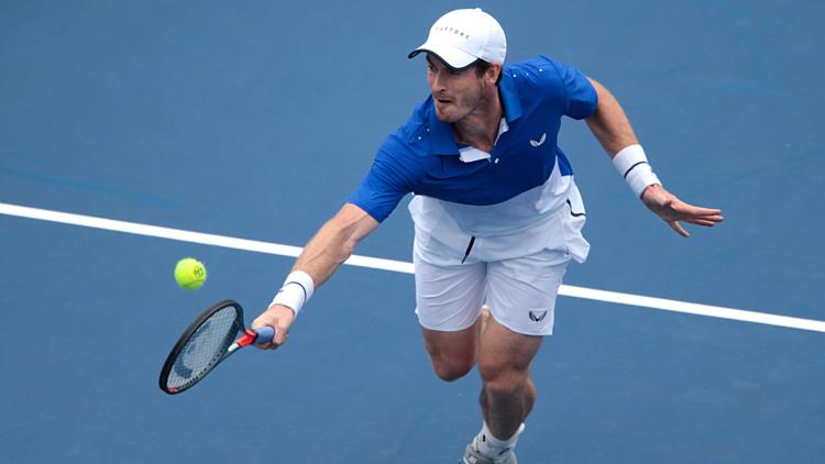 Murray sở hữu 45 danh hiệu ATP và hai HC vàng đơn nam Olympic trong sự nghiệp. Ảnh: Cincinnati.