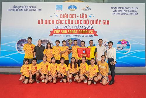 Đoàn Quảng Ninh giành giải nhất sau 5 ngày tranh tài.