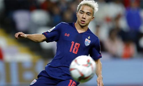 Chanathip có biệt danh Messi Thái Lan. Ảnh: Reuters