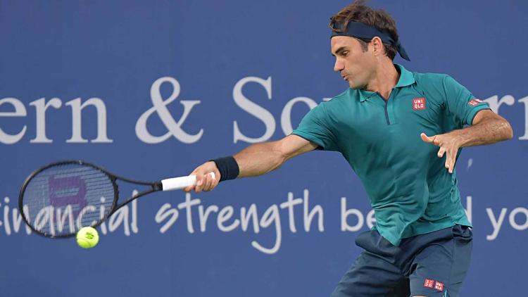 Federer ra quân thắng lợi ở Cincinnati Masters