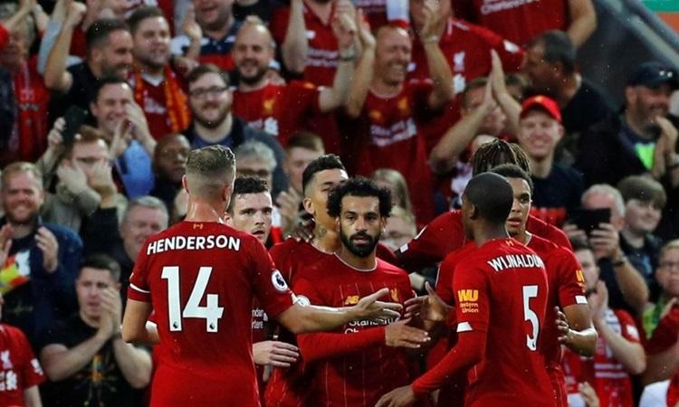 Lần thứ hai trong vòng 10 ngày, Liverpool dự một trận tranh cup. Ảnh: PA.