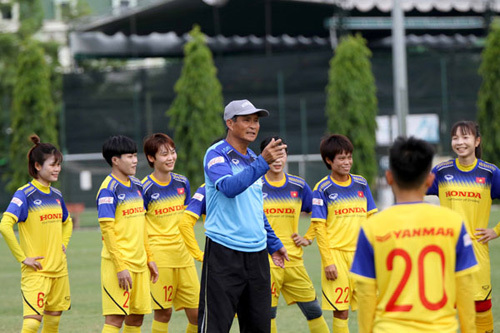 Dù đang trẻ hóa lực lượng, tuyển nữ Việt Nam vẫn đề ra mục tiêu vô địch Đông Nam Á.