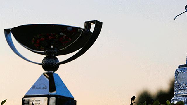 Chỉ cần góp mặt ở Tour Championship, sự kiện FedEx Cup Playoffs cuối cùng, các golfer cũng bỏ túi ngay 400.000USD. Ảnh: PGA Tour.