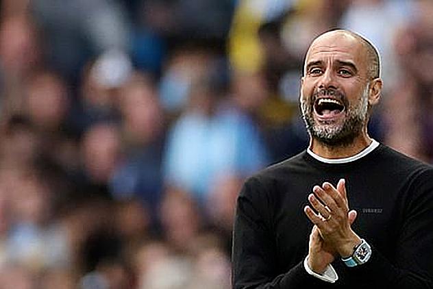 Man City dưới thời HLV Pep Guardiola hai lần bị VAR khước từ bàn thắng ở phút cuối trong các trận gặp Tottenham ở Etihad. Ảnh: Reuters.