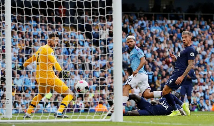 Hai lần dẫn trước, Man City vẫn không thể đánh bại đối thủ khó chơi của họ. Ảnh: Reuters.