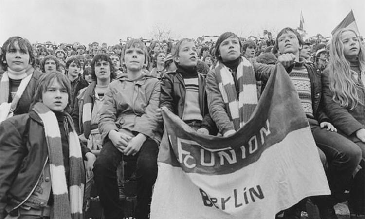 Union Berlin là biểu tượng cho những người chống đối chế độ cũ ở Đông Đức