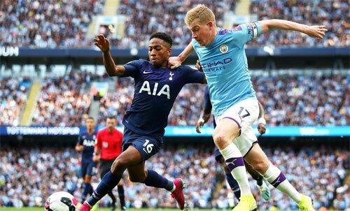 Man City bất lực với Tottenham. Ảnh: Reuters