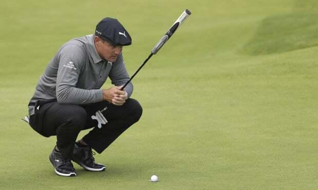 DeChambeau là một trong những golfer đánh chậm nhất trên PGA Tour. Ảnh: AP.