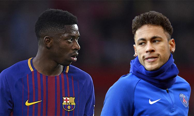 Dembele sẵn sàng cạnh tranh với Neymar - ảnh 1
