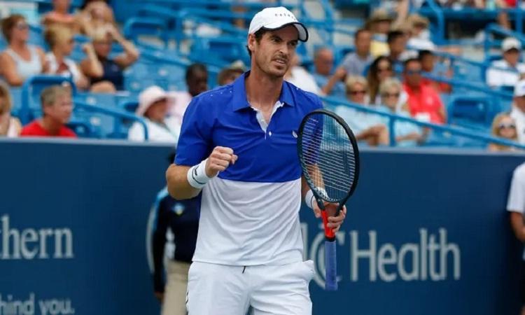 Murray tranh tài ở giải Rafa Nadal Mở rộng - ảnh 1