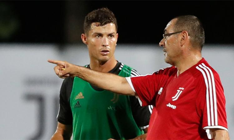 Juventus chờ đợi Sarri sẽ nâng tầm đội bóng sau khi đã tuyển mộ Ronaldo từ hè năm ngoái.