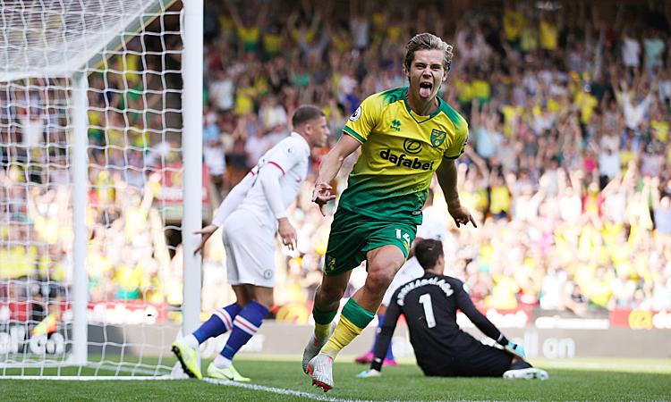 Norwich hai lần gỡ hoà nhưng vẫn nhận thất bại chung cuộc. Ảnh: Reuters.
