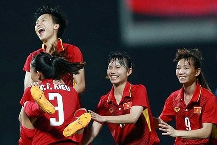 Việt Nam vào chung kết giải bóng đá nữ Đông Nam Á