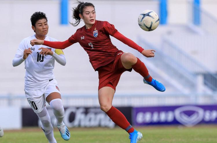 Thái Lan gặp Việt Nam ở chung kết giải bóng đá nữ Đông Nam Á - ảnh 1