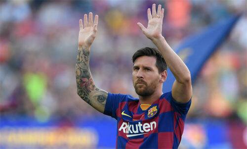 Messi tiếp tục nghỉ thi đấu ở La Liga