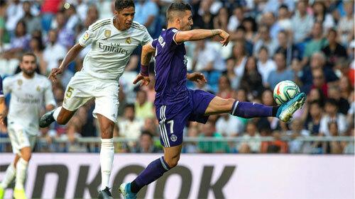 Valladolid thành công trong việc vô hiệu hóa Real.