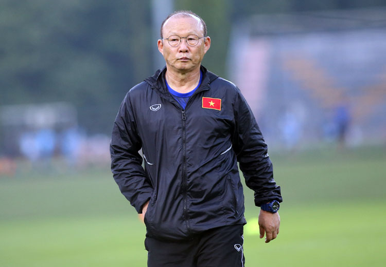 HLV Park Hang-seo cho biết ông có lý lẽ của riêng mình khi triệu tập đội tuyển. Ảnh: Lâm Thoả