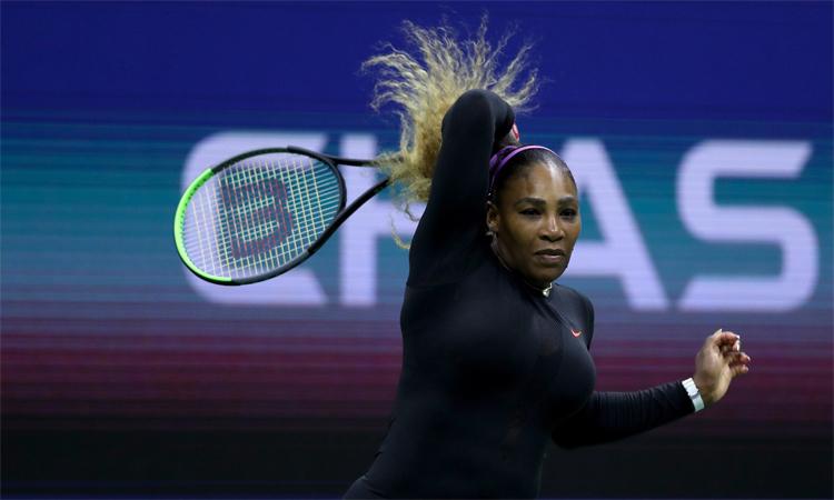 Serena hạ Sharapova ở vòng một Mỹ Mở rộng