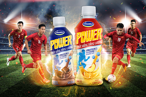 Vinamilk Power nỗ lực mang đến nguồn năng lượng bứt phá cho đội tuyển quốc gia.