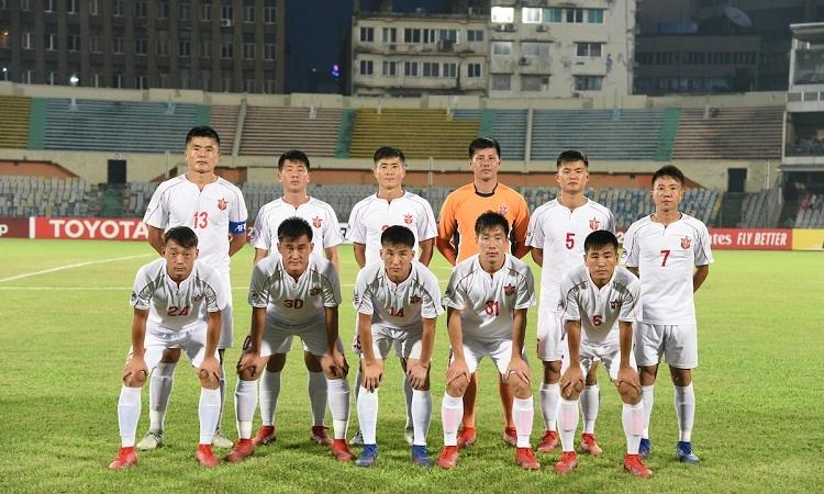 CLB Triều Tiên 4.25 SC sẽ là đối thủ của Hà Nội ở trận chung kết liên khu vực. Ảnh: AFC.